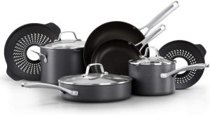 Calphalon Classic Pots and Pans Boil-Over Inserts - Nonstick Cooking Set