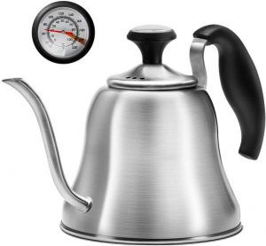 Chefbar Tea Kettle with Thermometer for Stove Top Gooseneck Kettle