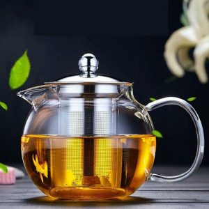 OBOR Glass Teapot with Removable Infuser