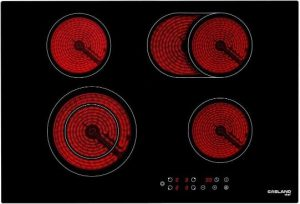 30 Inch Built-in Electric Cooktop, GASLAND Chef CH77BF 240V Ceramic Cooktop