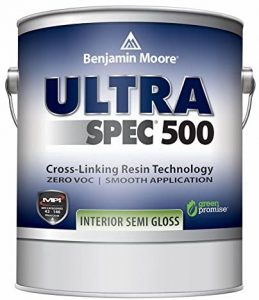 Benjamin Moore Ultra Spec 500 Interior Paint - Semi-Gloss Finish