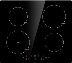 ECOTOUCH 24 Inch Induction Electric Cooktop - 4 Burner
