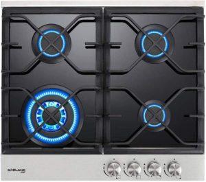 GASLAND 24 Inch Built-in Gas Cooktop - Chef GH60BF 4 Burner Gas Hob
