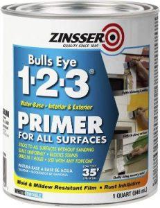 Rust-Oleum 2004 Zinsser Bulls Eye 1-2-3 Primer - 1 Quart