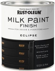 Rust-Oleum 331052 Milk Paint Finish (Quart) – Eclipse