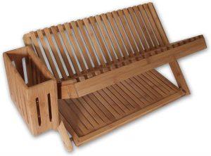 Island Bamboo 24-Inches Dish Rack