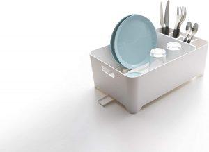YAMAZAKI home 2452 Tower Dish Drainer-Drying Rack for Kitchen Counters