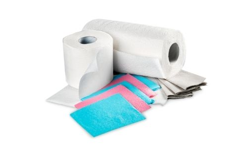 Paper-Towel Dry