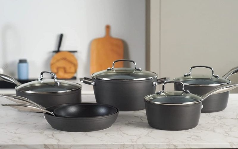 Best Nonstick Scratch Resistant Cookware Sets